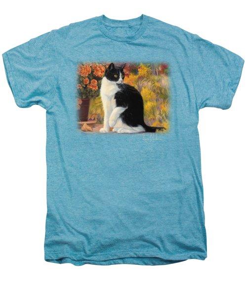 Looking Afar Men's Premium T-Shirt by Lucie Bilodeau