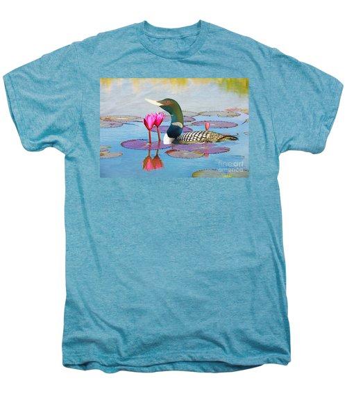 Loon And Lotus Men's Premium T-Shirt