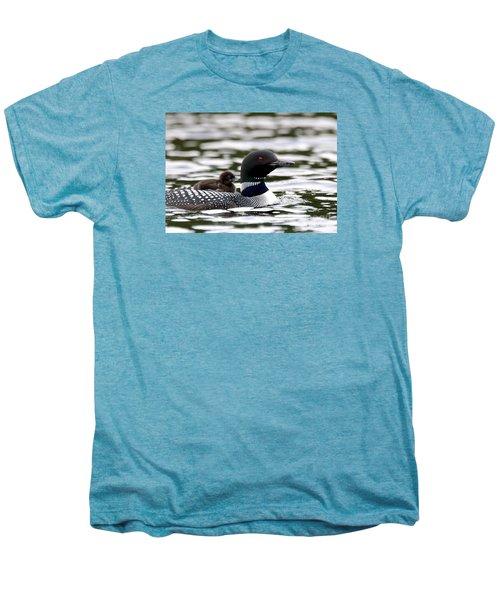 Loon Chick Men's Premium T-Shirt