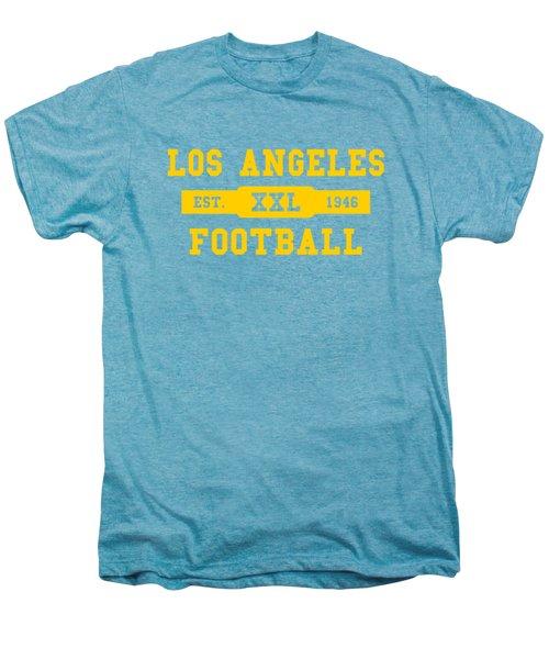 Los Angeles Rams Retro Shirt Men's Premium T-Shirt by Joe Hamilton