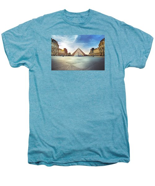 Louvre Museum Men's Premium T-Shirt by Ivan Vukelic