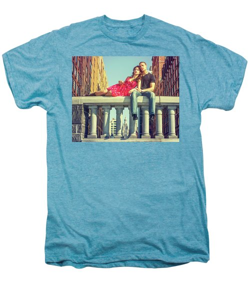 Love In Big City Men's Premium T-Shirt