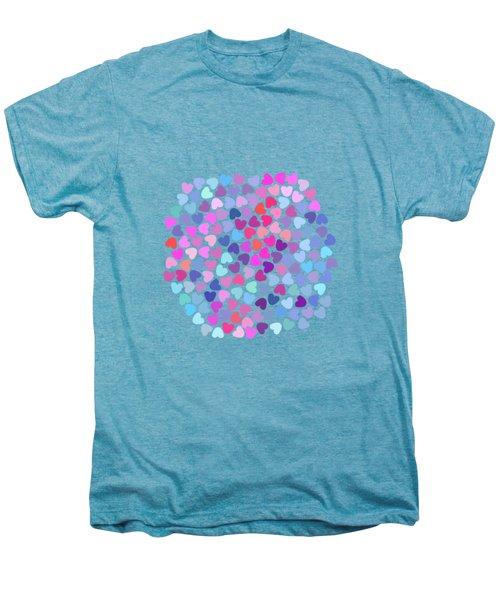 Love Love Love Men's Premium T-Shirt by Amir Faysal