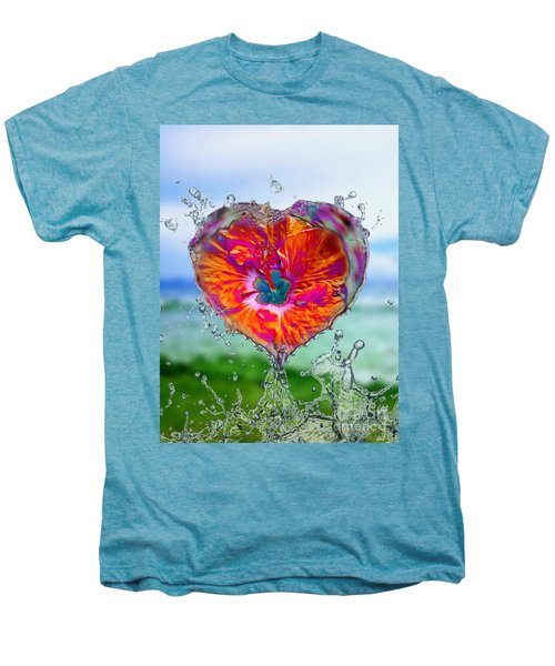 Love Makes A Splash Men's Premium T-Shirt