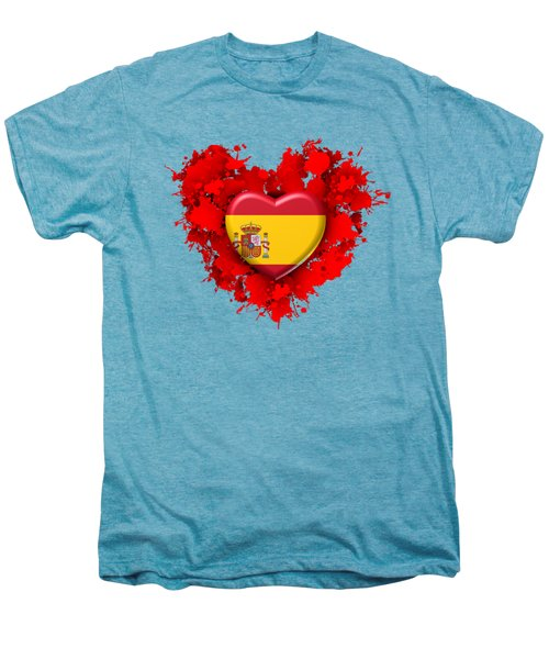 Love Spain 1 Men's Premium T-Shirt by Alberto RuiZ
