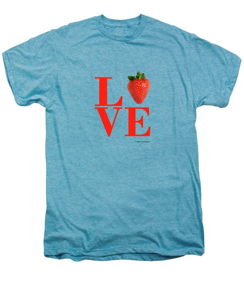 Love Strawberry Men's Premium T-Shirt