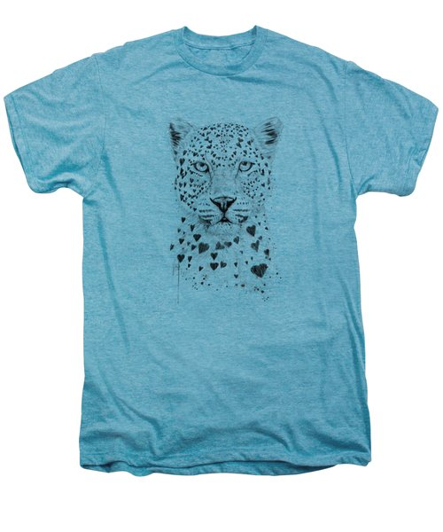 Lovely Leopard Men's Premium T-Shirt