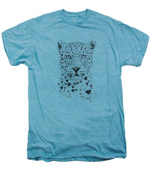Lovely Leopard Men's Premium T-Shirt