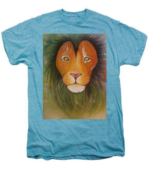 Lovelylion Men's Premium T-Shirt by Anne Sue