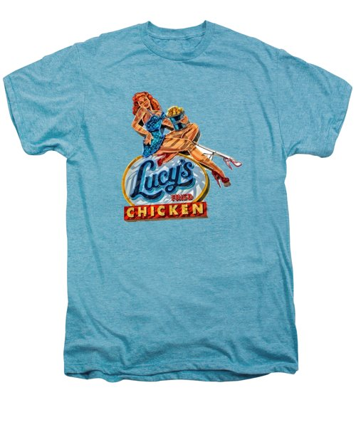 Lucys Fried Chicken Tee Men's Premium T-Shirt