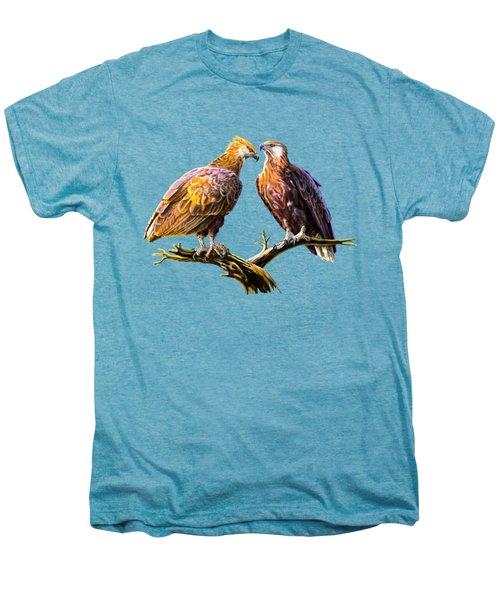 Madagascar Fish Eagle  Men's Premium T-Shirt