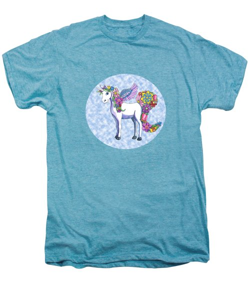 Madeline The Magic Unicorn 2 Men's Premium T-Shirt by Shelley Wallace Ylst