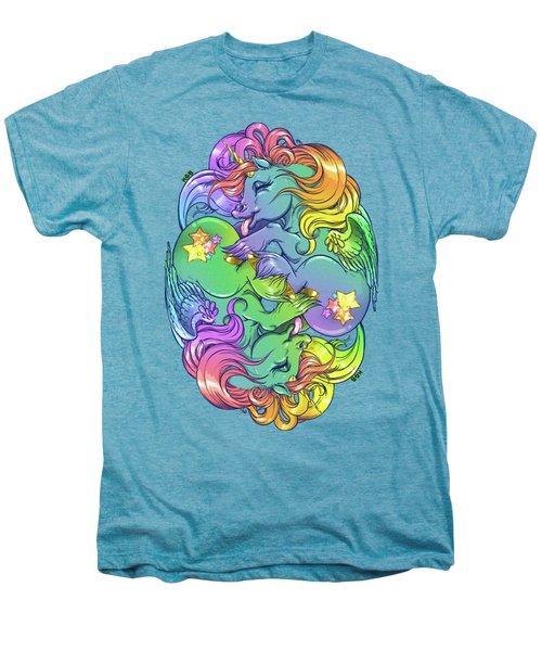 Magial Lesbian Ponies Men's Premium T-Shirt by Kelsey Bigelow