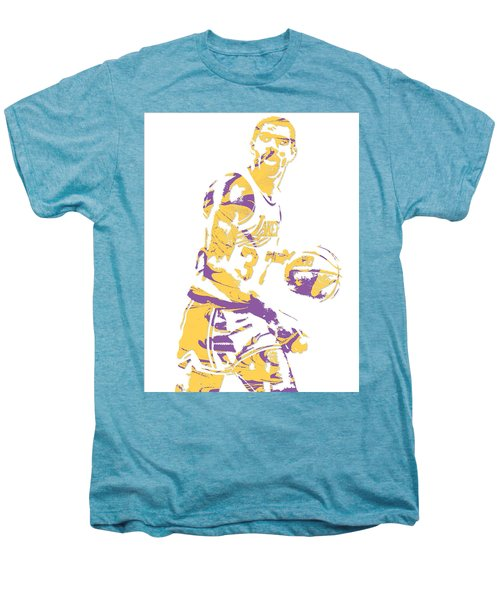 Magic Johnson Los Angeles Lakers Pixel Art 6 Men's Premium T-Shirt