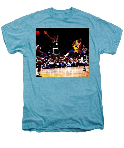 Magic Johnson No Look Pass 7a Men's Premium T-Shirt