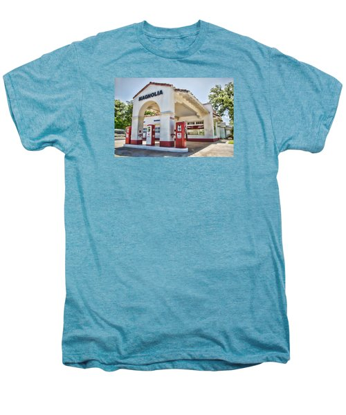 Magnolia Gas - Little Rock Men's Premium T-Shirt