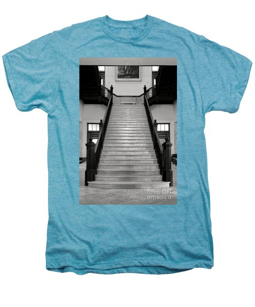 Maine Capitol West Wing Staircase Men's Premium T-Shirt