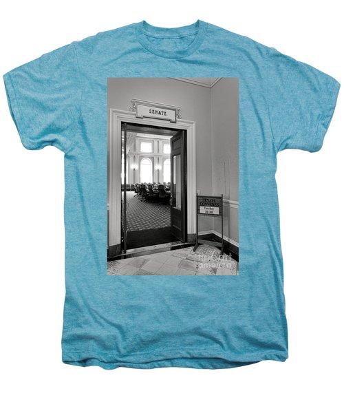 Maine Senate Chamber Doorway Men's Premium T-Shirt