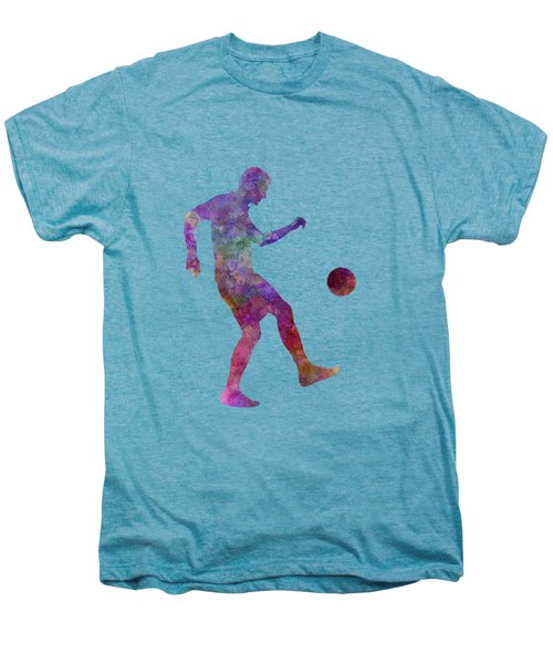 Man Soccer Football Player 04 Men's Premium T-Shirt