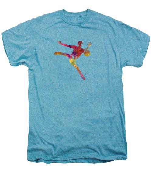 Man Soccer Football Player 08 Men's Premium T-Shirt