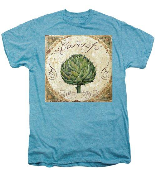 Mangia Artichoke Men's Premium T-Shirt by Mindy Sommers