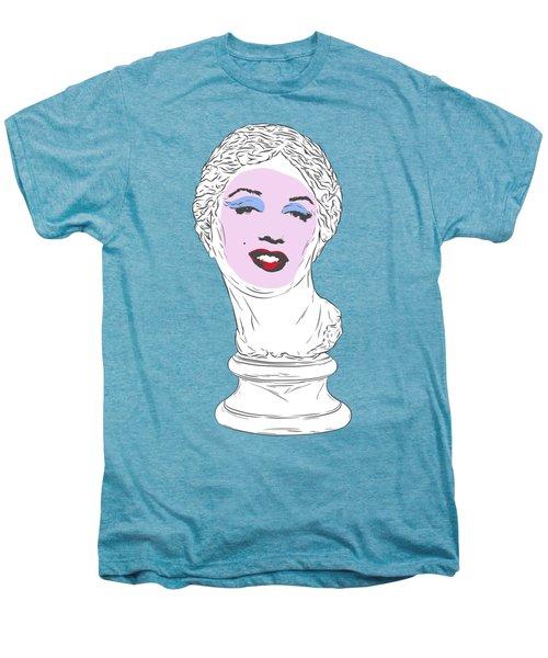 Marilyn Aphrodite Men's Premium T-Shirt by Evgenia Chuvardina
