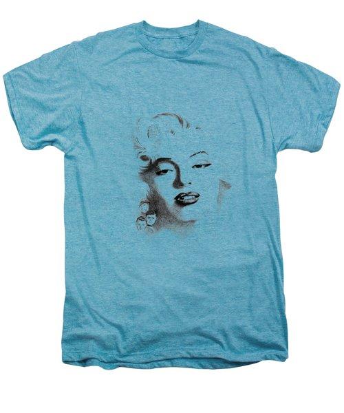 Marilyn  Men's Premium T-Shirt by John Barnard