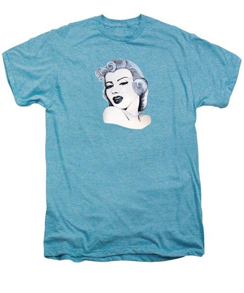 Marilyn Monroe Men's Premium T-Shirt by Ivana Hlavca