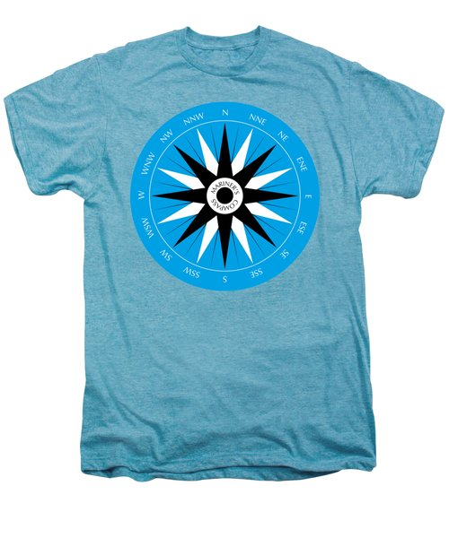 Mariner's Compass Men's Premium T-Shirt by Frank Tschakert