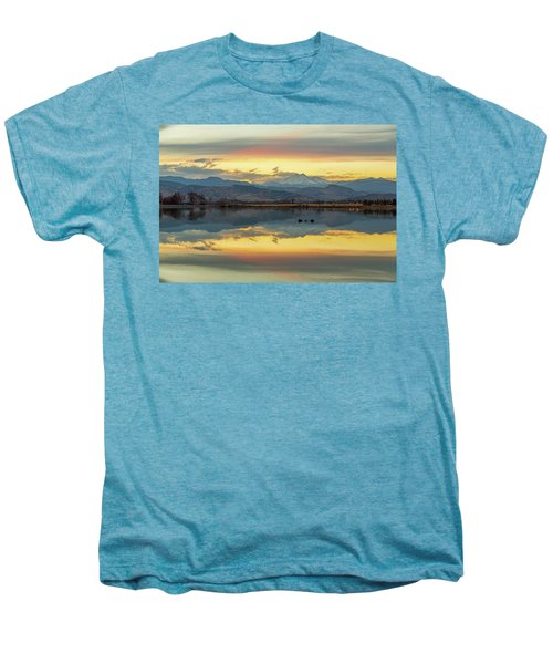 Men's Premium T-Shirt featuring the photograph Marvelous Mccall Lake Reflections by James BO Insogna