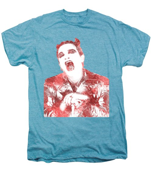 Mcphisto Red Men's Premium T-Shirt by Clad63