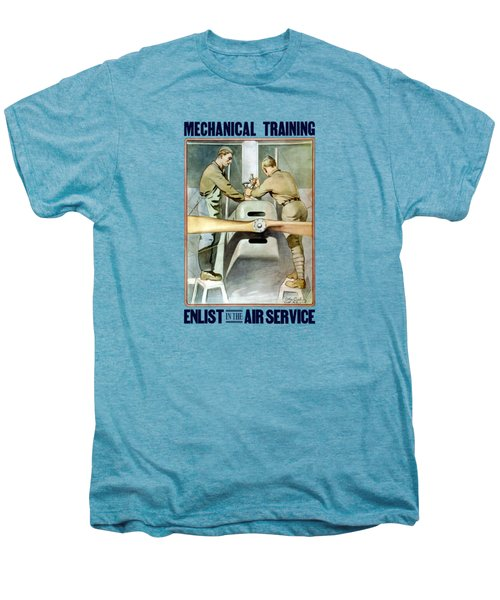 Mechanical Training - Enlist In The Air Service Men's Premium T-Shirt