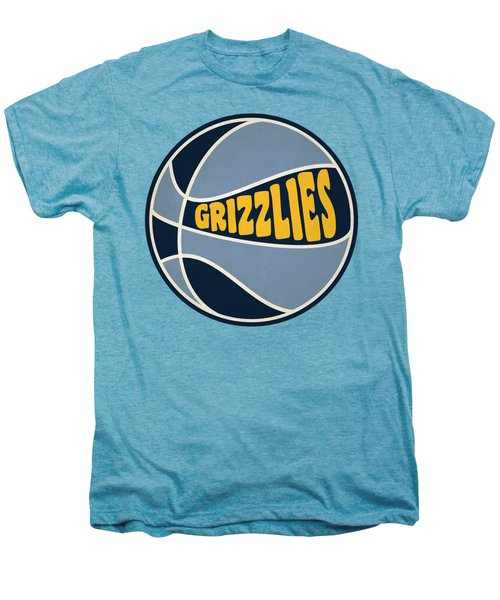 Memphis Grizzlies Retro Shirt Men's Premium T-Shirt by Joe Hamilton