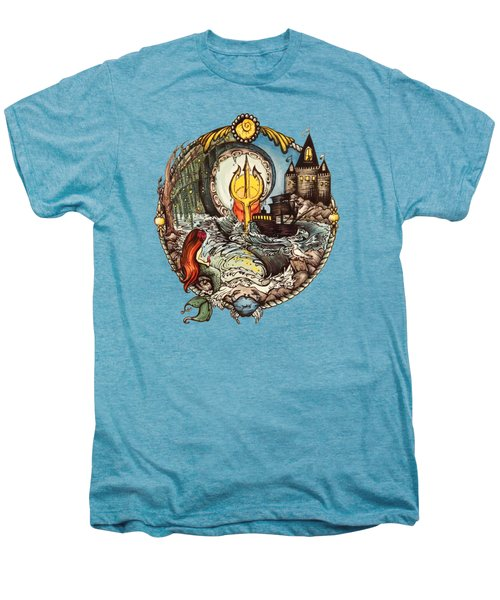 Mermaid Part Of Your World Men's Premium T-Shirt by Cat Dolch
