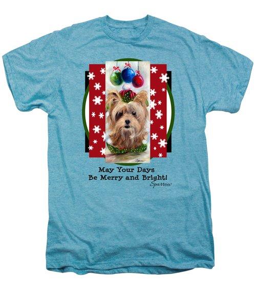 Merry And Bright Men's Premium T-Shirt