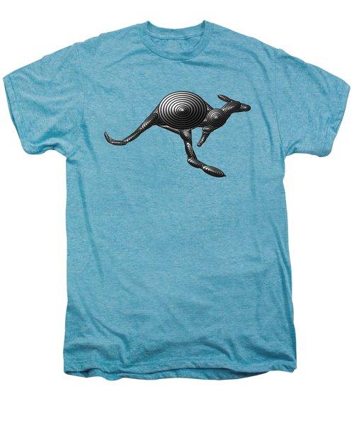 Metal Kangaroo Men's Premium T-Shirt