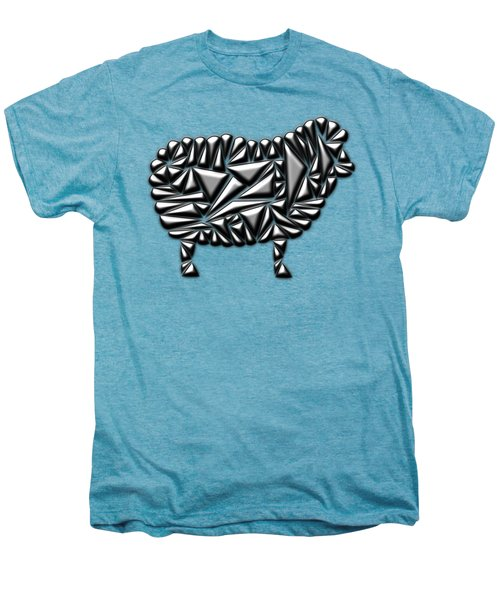 Metallic Sheep Men's Premium T-Shirt by Chris Butler