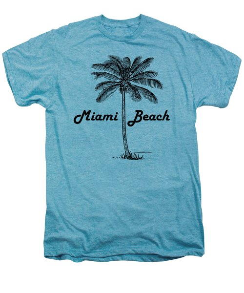 Miami Beach Men's Premium T-Shirt