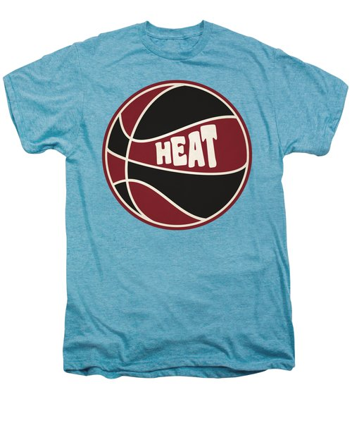 Miami Heat Retro Shirt Men's Premium T-Shirt by Joe Hamilton