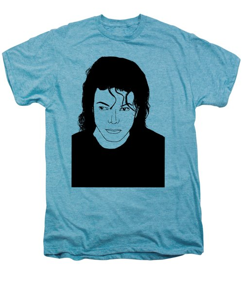 Michael Jackson Men's Premium T-Shirt by Lionel B