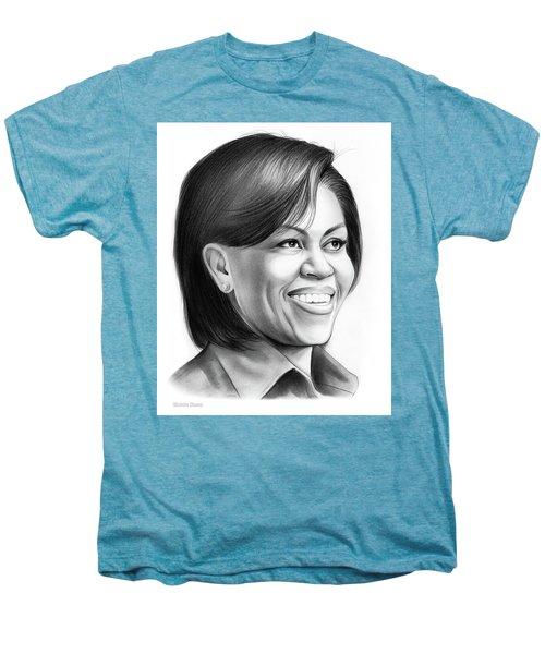 Michelle Obama Men's Premium T-Shirt