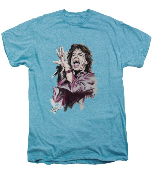 Mick Jagger Men's Premium T-Shirt