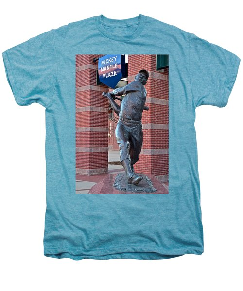 Mickey Mantle Plaza Men's Premium T-Shirt