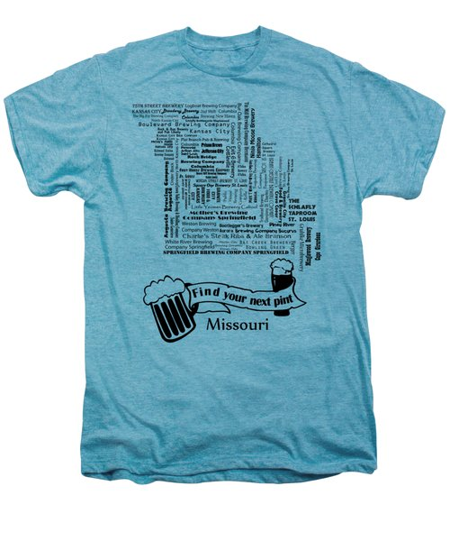 Micro Brew Missouri Men's Premium T-Shirt by Ryan Burton