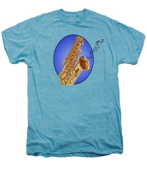 Midnight Blues Men's Premium T-Shirt