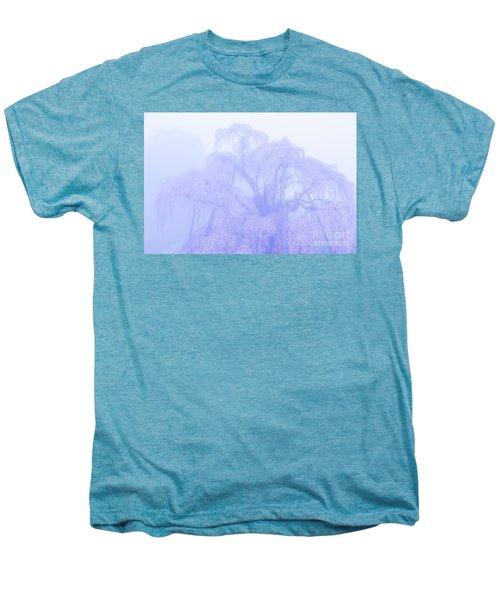 Miharu Takizakura Weeping Cherry01 Men's Premium T-Shirt