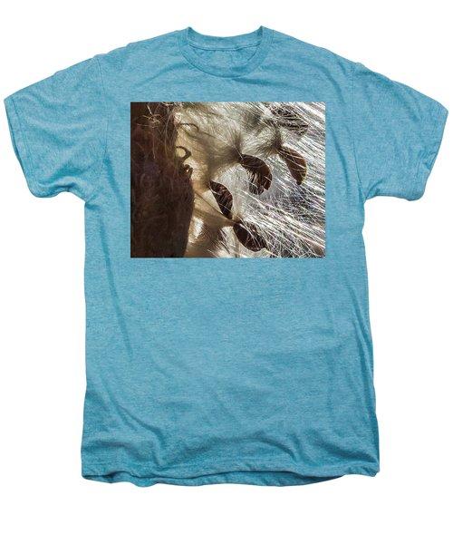 Milkweed Seed Burst Men's Premium T-Shirt