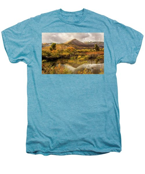 Mill Canyon Peak Reflections Men's Premium T-Shirt