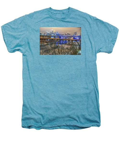 Minneapolis Bridges Men's Premium T-Shirt by Craig Voth