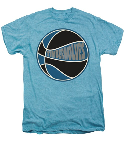 Minnesota Timberwolves Retro Shirt Men's Premium T-Shirt
